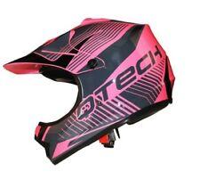 Caschi rose grafica di motocross e quad per la guida di veicoli