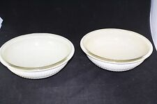 VITROFORM SPARKLE GLASS BATHROOM SINK BOWL  VANITY MID CENTURY RETRO PAIR LOT