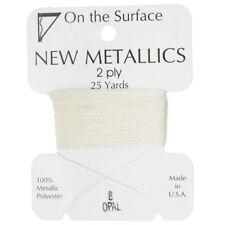 Beadsmith Metallic Polyester Thread 2 ply Opal 25 yards/22 Metres (G54/8)