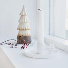 House Doctor Kerzenleuchter Star 13cm Stern weiß Advent Weihnachten Kerzenhalter
