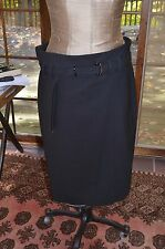 Gunex by Brunello Cucinelli black skirt sz 50