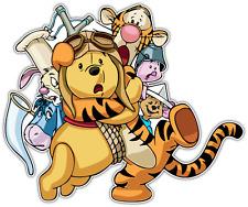 """Winnie the Pooh & Pals Kids Cartoon Car Bumper Window Sticker Decal 5""""X4.1"""""""