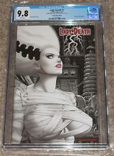 Coffin Comics Lady Death 1 CGC 9.8 Scarlet Bride Edition Merhoff Cover