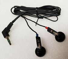 New Casio Stereo Earphone(like earbud) for PC or Laptop