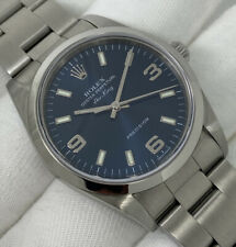 Rolex Air King Oyster Perpetual Blue Arabic Dial Gents Automatic 34mm [14000M]