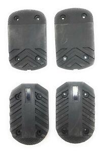 Nordica Multi Macro F5 F6 Ski Boots Replacement Heel + Toe Sole Kit Set Black