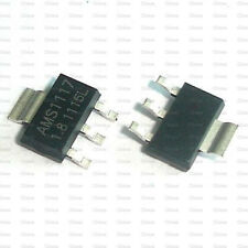 50Pcs AMS1117-1.8 AMS1117 LM1117 1.8V 1A SOT-223 Voltage Regulator
