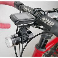 Bike Stem Computer Mount Camera Light Holder For GARMIN edge 820 500 200 Gopro