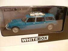 CITROEN ID 19 BREAK BLEU : WHITE BOX ~  NEUF
