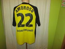 Borussia Dortmund gool.de Deutscher Meister Trikot 2001/02 + Nr.22 Amoroso Gr.XL
