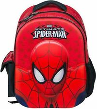 Marvel Amazing Spiderman Ultimate 3d Mochila Para Niños Escuela Mochila Junior Nuevo