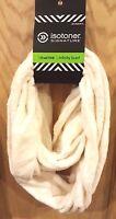 Isotoner Ivory Soft Fleece Infinity Scarf - MSRP $36