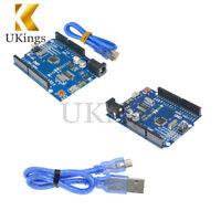 ATMEGA328P-16AU CH340G Arduino UNO R3 With Micro USB Cable