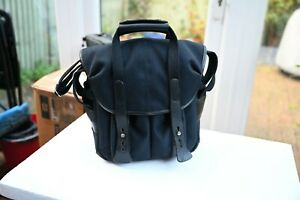 BILLINGHAM BAG 107 Black  FIBERNYTE/Black Leather -EXCELLENT-  RRP(was) £300