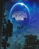 "READY PLAYER ONE (3 CAST SIGNED)  AUTOGRAPH SIGNED 10"" X 8"" PHOTO  COA 55"