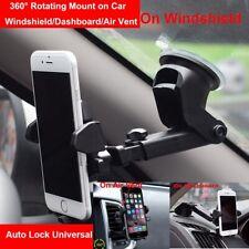 360°Long Arm Car Holder Windshield Mount Bracket For iPhone Samsung Mobile Phone