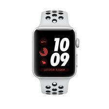 Apple Watch 3 Nike+ GPS 42mm Silber Aluminiumgehäuse mit Pure Platinum /Schwarz