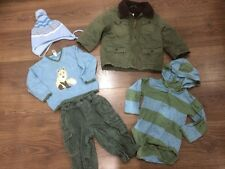 Baby Boys  Winter Bundle 12-18 Gap Coat Outfit Etc