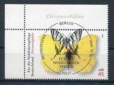 Bund Mi-Nr 2500  Ecke 1 (45+20) -Zitronenfalter- ESST Berlin 2005