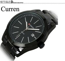 CURREN 8091 B Luxury Brand Military Men Sports Wrist Watch Full Steel Auto Date
