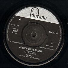 """RIA VALK - Afscheid Van 'N Soldaat (1961 NEDERPOP VINYL SINGLE 7"""")"""
