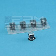 5pz Condensatori SMD elettrolitici 100uF 25V - ART. HM08