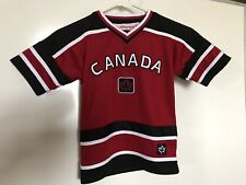 Canada Team Hockey Jersey Shirt 6/8 Sports Gear Youth Teepee Sports Athletic