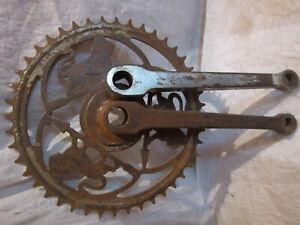 Pédalier PEUGEOT 44 dents vélo ancien collection