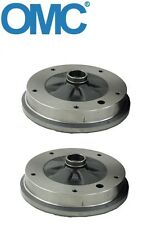 2 Front For VW Beetle Karmann Ghia Thing Brake Drum OMC 131405615A