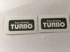 Courtenay Turbo VXR Astra Corsa Small Stickers X2