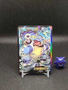 Pokemon - Blastoise Ex Full Art Rare Promo XY122 Light Play See Pic