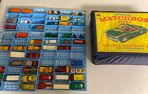 Matchbox Series Collectors Case with 49 Cars