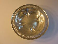 "Vintage International Sterling Silver 5.75"" Round Candy/Nut Dish 35-3, No Mono"