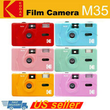 Kodak Vintage Retro M35 35mm Reusable Non-Disposable Film Camera Kids Gift Us