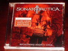 Sonata Arctica: Reckoning Night + Unia 2 CD Set 2013 Bonus Tracks NB 3204-0 NEW