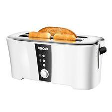 Unold 38020 Toaster Design Dual Weiss-Schwarz Auftaufunktion 1.350 Watt