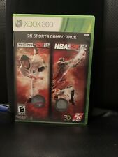 2K Sports Combo Pack: Major League Baseball 2K12/NBA 2K12 (Microsoft Xbox...