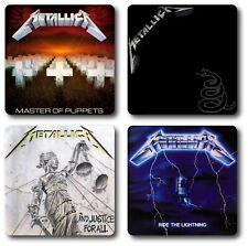 Metallica 4 Piece Coaster Sets