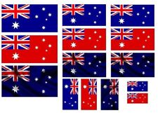 1/35 scale WW2 Australian flags on 100% cotton. model/diorama military