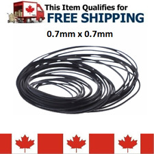 30pcs Mix Cassette Tape Machine Square Belt Repair Kit 0.7mm x 0.7mm