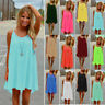 Womens Beachwear Beach Short Dress Bikini Cover Up Kaftan Ladies Mini Sun Dress