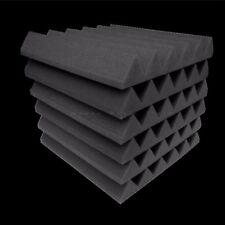 Acoustic Foam 48 pack Wedge Studio Soundproofing Foam Wall Tiles 12x12x2 inch