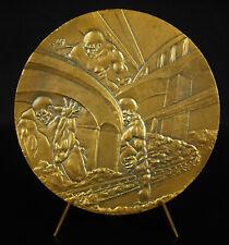 Médaille l'autoroute des titans A40 Bourg-en-Bresse Bellegarde giants road medal