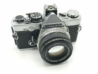 Olympus OM-2 Manual Focus 35mm SLR Camera + Choice of Lenses (e.g. 50mm f/1.8)