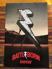 The Killers - Battle born - ORIGINAL UK PROMO POSTER