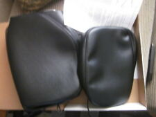 NEW Saddlemen Replacement Two-Piece Seat Cover - H512 BLACK