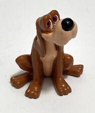 ✨ Disney Cinderella Friend Pet Blood Hound Dog BRUNO PVC Toy Figure Cake Topper