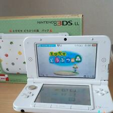 Nintendo 3DS XL LL Console Animal Crossing Limited Game Handheld system w/BOX