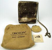 Edle Oroton Abendtasche mit Börse