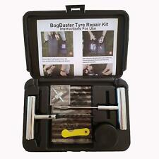 PUNCTURE REPAIR KIT TUBELESS TYRE PROFESSIONAL QUALITY VALVE CORE TOOL ROPE PLUG